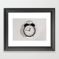 Time Stood Still Framed Art Print