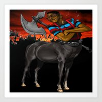 Lord Of The Pocket Prote… Art Print