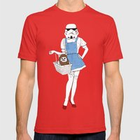 Dorothy Trooper Mens Fitted Tee Red SMALL