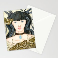 Moth Girl Stationery Cards