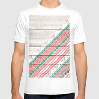 Andes Tribal Aztec Coral… Mens Fitted Tee White SMALL
