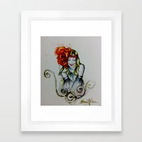 Oh So Happy Framed Art Print