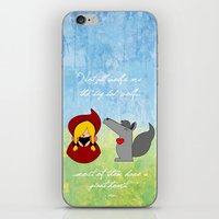 Little Red Riding Hood &… iPhone & iPod Skin