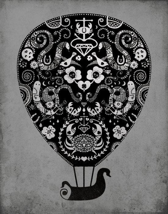 Lucky ride Canvas Print