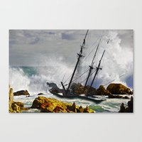 The Big Swell Canvas Print