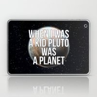 When I Was A Kid... Laptop & iPad Skin