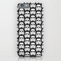 Stormtroopers on Black 2 iPhone 6 Slim Case