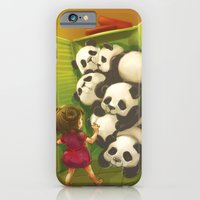 A cupboard of pandas iPhone 6 Slim Case
