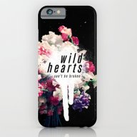 iPhone & iPod Case featuring Wild Hearts by Much Wow