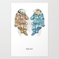Luna Roca Art Print