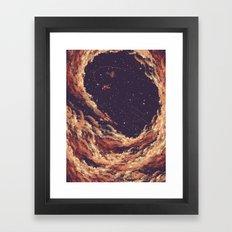 Cosmic Smoke Framed Art Print