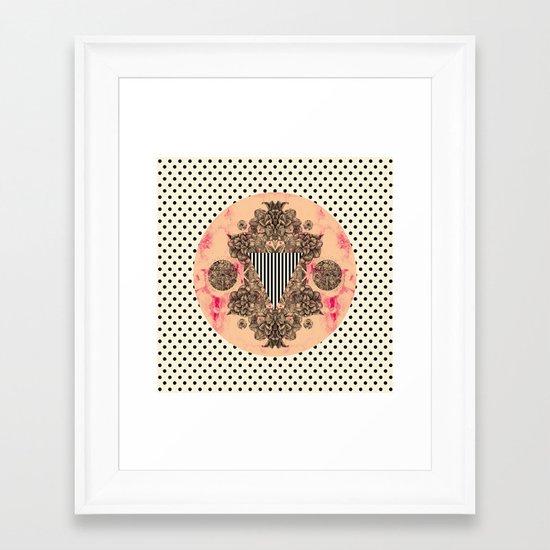 C.W. xx Framed Art Print