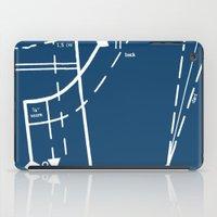 Pattern Master Navy iPad Case