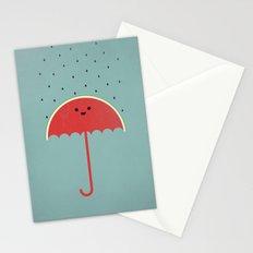 Watermelon Umbrella Stationery Cards