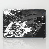 Black Cat Storm iPad Case