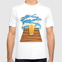 Pure Hoppiness Mens Fitted Tee White SMALL