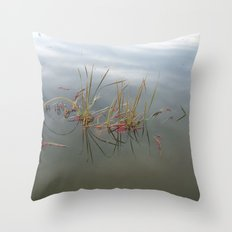 Escaped Cranberries Throw Pillow