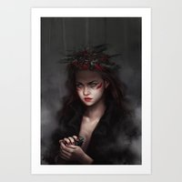 Falling From High Places Art Print