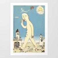 Aigamuxa Art Print