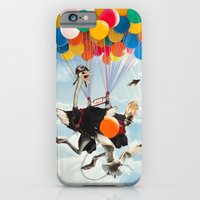 iPhone & iPod Case featuring UFO's II by Dolphin and Cow