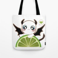 Kawaii Monster  Tote Bag