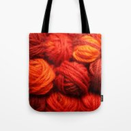 Many Balls Of Wool In Sh… Tote Bag