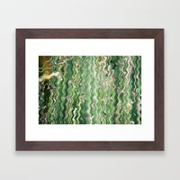 Can't See the Forest Framed Art Print