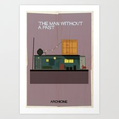 The man without a past directed by Aki Kaurismäki Art Print