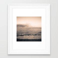 calm day 04 ver.warmblack Framed Art Print