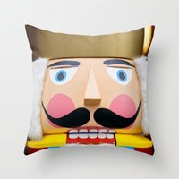 Nutcracker King Throw Pillow