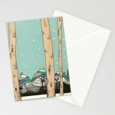 Behind the Forest Stationery Cards
