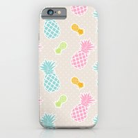 Colorful Pineapples iPhone 6 Slim Case