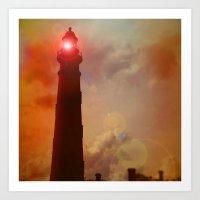 Exploration Of Light Art Print