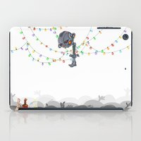 There are CHRISTMAS strings on me... iPad Case