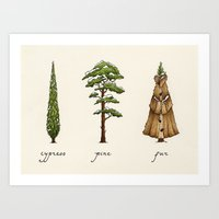 Fur Tree Art Print