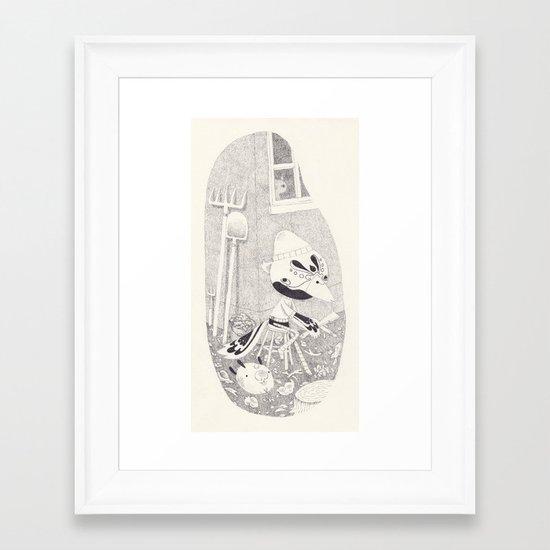 mordecai Framed Art Print
