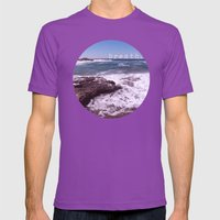 breath Mens Fitted Tee Ultraviolet SMALL
