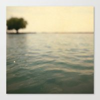 Canvas Print featuring Sea Level by Alicia Bock