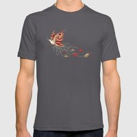 Hummerfly Mens Fitted Tee Asphalt SMALL