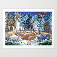 Everyone Is Invited To T… Art Print