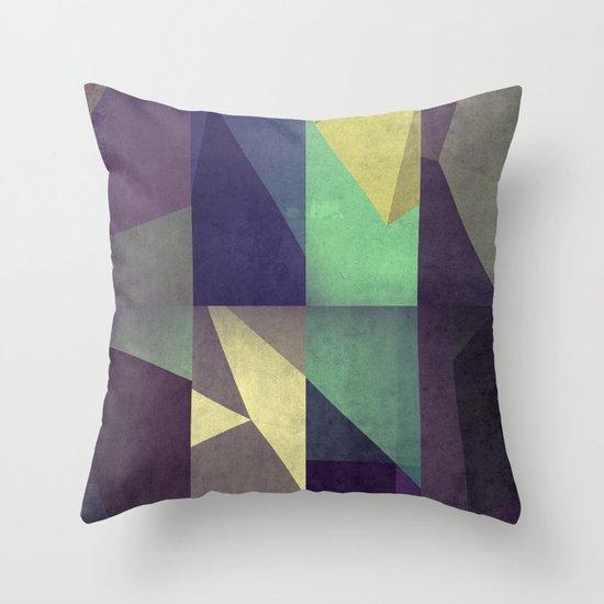 flysx+fyrwyrd Throw Pillow