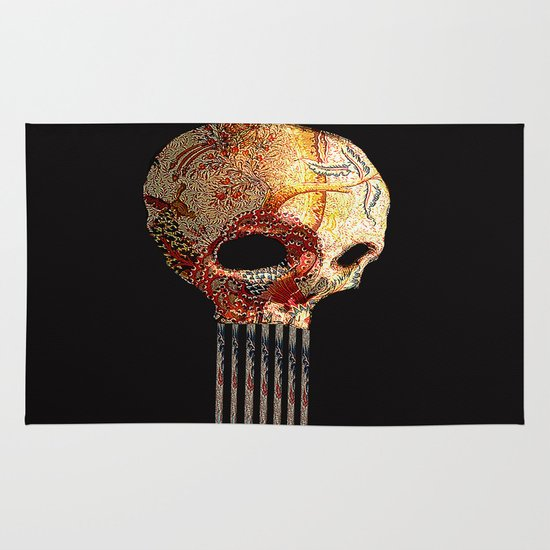 Skull 2 Area & Throw Rug