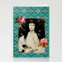 Alice Collage Stationery Cards
