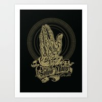 Total Recall inspired print Art Print