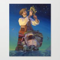 The Navigator's Gift Canvas Print