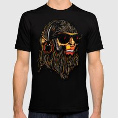 Teen Wolf SMALL Black Mens Fitted Tee