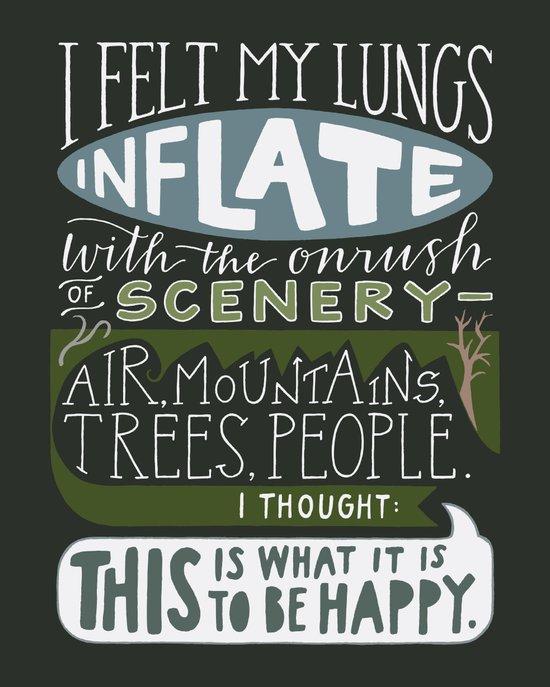 To Be Happy Art Print
