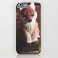 iPhone & iPod Case featuring Doorstop Red Fox by Beckah Carney Photography
