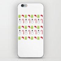 Christmas Icons iPhone & iPod Skin