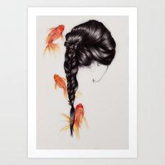 Hair Sequel III Art Print